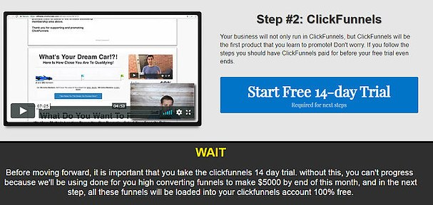 ClickFunnel Training Step 2
