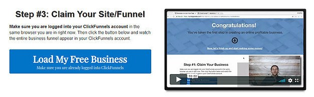ClickFunnel Training Step 3