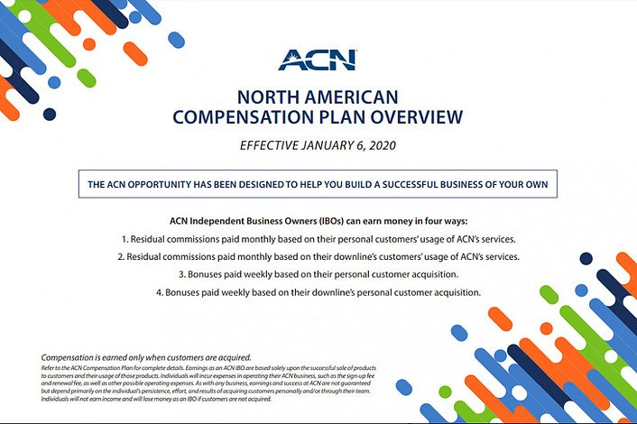 ACN Compensation Plan Overview