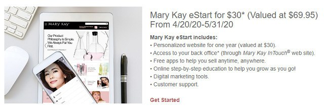 Mary Kay eStart Option