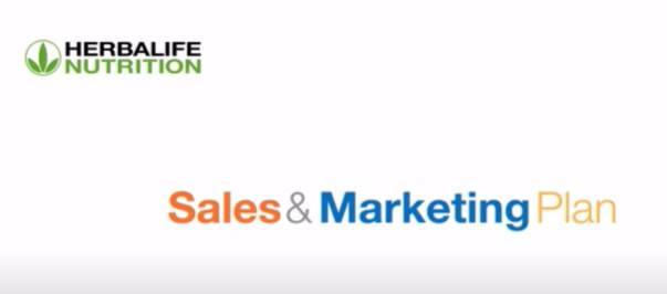 Herbalife Sales and Marketing Plan